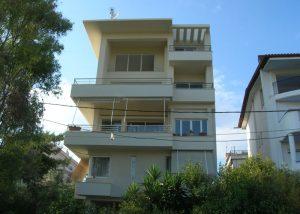 Προσθήκη καθ΄ ύψος Γ-Δ ορόφων σε υφιστάμενη κατοικία