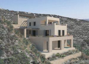 Κατασκευή διώροφης κατοικίας στο Σχοινιά Αττικής