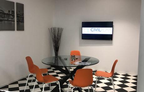 Γραφείο Civilplan στους Αμπελόκηπους